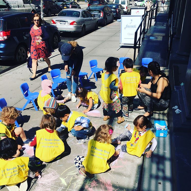 Preschool Prep taking advantage of the nice weather!  readestreetprephellip