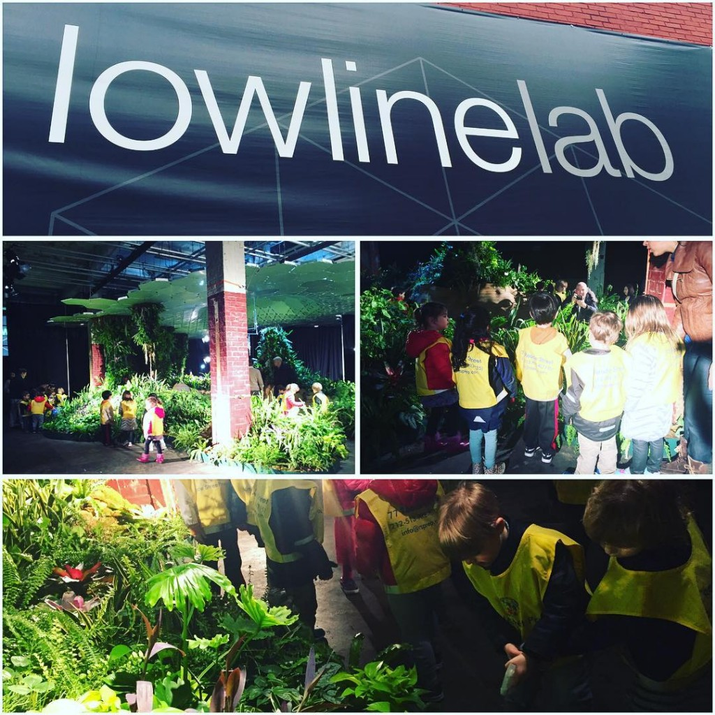 The Spanish Discoverers visited The Lowline lowlinenyc and learned howhellip